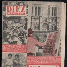 Coleccionismo de Revista Diez Minutos: REVISTA DIEZ MINUTOS - Nº 193. MAYO 1955. . Lote 32536209
