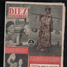 Coleccionismo de Revista Diez Minutos: REVISTA DIEZ MINUTOS - Nº 195. MAYO 1955. . Lote 32536212