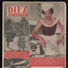 Coleccionismo de Revista Diez Minutos: REVISTA DIEZ MINUTOS - Nº 196. MAYO 1955. . Lote 32536213