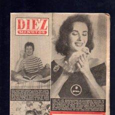 Coleccionismo de Revista Diez Minutos: REVISTA DIEZ MINUTOS. JULIO 1957. NUM. 307. .. Lote 32577689