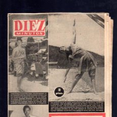 Coleccionismo de Revista Diez Minutos: REVISTA DIEZ MINUTOS. JUNIO 1957. NUM. 305. .. Lote 205195856