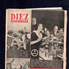 Coleccionismo de Revista Diez Minutos: REVISTA DIEZ MINUTOS. DICIEMBRE 1956. NUM. 276. .. Lote 32577775