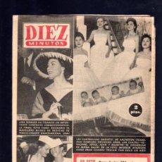 Coleccionismo de Revista Diez Minutos: REVISTA DIEZ MINUTOS. FEBRERO 1957. NUM. 286. .. Lote 32577832