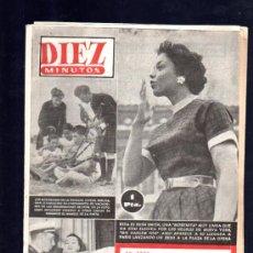 Coleccionismo de Revista Diez Minutos: REVISTA DIEZ MINUTOS. AGOSTO 1954. NUM. 157. .. Lote 32577853