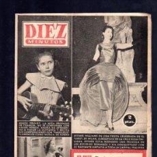 Coleccionismo de Revista Diez Minutos: REVISTA DIEZ MINUTOS. AGOSTO 1957. NUM. 311. .. Lote 32578010
