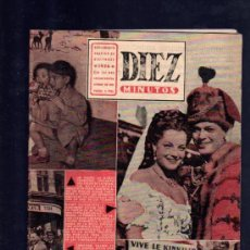 Coleccionismo de Revista Diez Minutos: REVISTA DIEZ MINUTOS. SUPLEMENTO GRAFICO DICIEMBRE. 1956. .. Lote 32578056