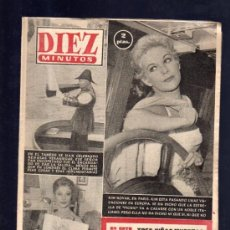 Coleccionismo de Revista Diez Minutos: REVISTA DIEZ MINUTOS. AGOSTO 1957. NUM. 313. .. Lote 32578434