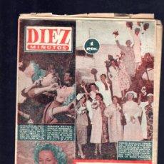 Coleccionismo de Revista Diez Minutos: REVISTA DIEZ MINUTOS. AGOSTO 1954. NUM. 154. .. Lote 32578547