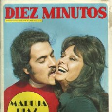 Coleccionismo de Revista Diez Minutos: MARUJITA DIAZ REVISTA DIEZ MINUTOS AÑO 1973 Nº 1.120 MIA FARROW / PALOMA CELA.... Lote 32601768