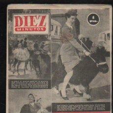 Coleccionismo de Revista Diez Minutos: REVISTA DIEZ MINUTOS. ABRIL 1953. NUM. 86. . . Lote 32607835