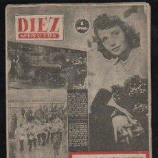 Coleccionismo de Revista Diez Minutos: REVISTA DIEZ MINUTOS. SEPTIEMBRE 1953. NUM. 109. . . Lote 32607871
