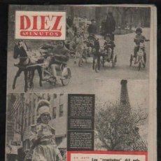Coleccionismo de Revista Diez Minutos: REVISTA DIEZ MINUTOS. ABRIL 1953. NUM. 84. . . Lote 32608055