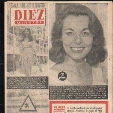 Coleccionismo de Revista Diez Minutos: REVISTA DIEZ MINUTOS. AGOSTO 1958. NUM. 365 - GUENDALINA, ANNE HODWOOD, SEÑALES DE BIEL. Lote 32632978