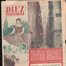 Coleccionismo de Revista Diez Minutos: REVISTA DIEZ MINUTOS. JUNIO 1956. NUM. 252 - ROSSANA PODESTA, FERIA DE SAN JUAN, AUDREY HEPBURN. Lote 32634026