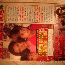 Coleccionismo de Revista Diez Minutos: REVISTA DIEZ MINUTOS . Lote 32791072