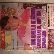 Coleccionismo de Revista Diez Minutos: REVISTA DIEZ MINUTOS. Lote 32792250