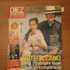 Colecionismo da Revista Diez Minutos: REVISTA DIEZ MINUTOS , 28 ABRIL DE 2010- Nº 3062- ORTEGA CANO . Lote 32855127