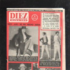 Coleccionismo de Revista Diez Minutos: REVISTA DIEZ MINUTOS. 1959. Nº 399. MISTERIO DON JUAN DE VALENCE, TORERA ROSEMAY HATHERLEY, LAMA.... Lote 32930652