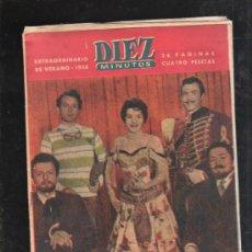 Coleccionismo de Revista Diez Minutos: REVISTA DIEZ MINUTOS. 1958. EXTRAORDINARIO DE VERANO. CINE, GRECO, MUERTE ABBANE, JUVENTUD AMERICANA. Lote 32933081