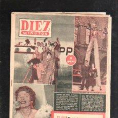 Coleccionismo de Revista Diez Minutos: REVISTA DIEZ MINUTOS. 1954. Nº 169. IVONNE DE CARLO HARA, PIERRE BALMAIN, SULTAN DE MARRUECOS.... Lote 32933713