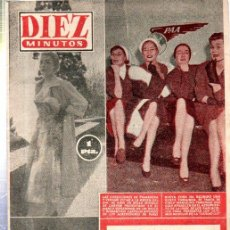 Coleccionismo de Revista Diez Minutos: REVISTA DIEZ MINUTOS, Nº 189, 1955,ONU COMBATE ESCLAVOS,GINA LOLLOBRIGIDA,NAGASAKI,JOSEFINA BAKER. Lote 32941221