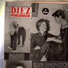 Coleccionismo de Revista Diez Minutos: REVISTA DIEZ MINUTOS, Nº 78, 1953,MARIA LUISA FLODIN,EXP.CANINA, YVONNE DE CARLO,ROSERNBERG. Lote 32941283
