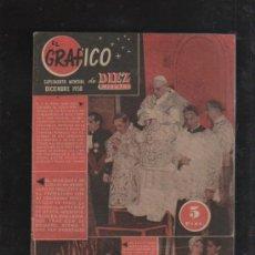 Coleccionismo de Revista Diez Minutos: EL GRAFICO. SUPLEMENTO MENSUAL DE DIEZ MINUTOS. 1958. PAPA JUAN XXIII, JUANA SEBERG, MARQUES CUEVAS.. Lote 33010999