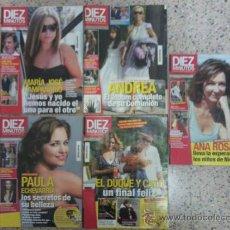 Coleccionismo de Revista Diez Minutos: DIEZ MINUTOS LOTE DE 5 REVISTAS.. Lote 33172541