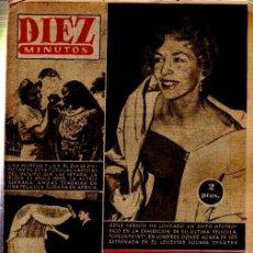 Coleccionismo de Revista Diez Minutos: REVISTA DIEZ MINUTOS, Nº 282, ERIKA BEER, ODILE VERSOIS, MARIA MAC DONALL, COMETA SE APROXIMA. Lote 33216340