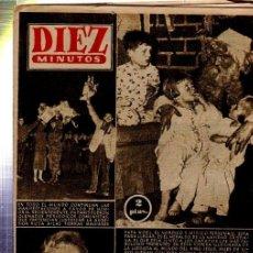 Coleccionismo de Revista Diez Minutos: REVISTA DIEZ MINUTOS, Nº 278, AGRESIÓN RUSA, MARIA SCHELL, ELVIS PRESLEY, PAPA NOEL. Lote 33216358
