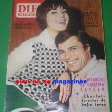 Coleccionismo de Revista Diez Minutos: DIEZ MINUTOS Nº 757/1966 JEAN SOREL~SARA MONTIEL~ANTHONY PERKINS~DAVID NIVEN. Lote 33673919