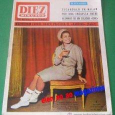 Coleccionismo de Revista Diez Minutos: DIEZ MINUTOS Nº 764/1966 CARMEN SEVILLA~CARROL BAKER~LOLA FLORES~ALINE GRIFFITH~MISS MUNDO. Lote 33674344