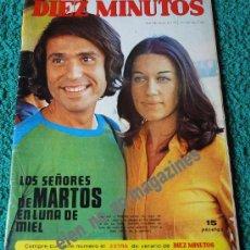 Coleccionismo de Revista Diez Minutos: DIEZ MINUTOS Nº 1092 /1972 ~ RAPHAEL Y NATALIA FIGUEROA ~ TERESA RABAL ~ MARIA LATOUR ~ PETER GRAVES. Lote 33954398