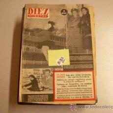 Coleccionismo de Revista Diez Minutos: DIEZ MINUTOS19532,00 € . Lote 34792835