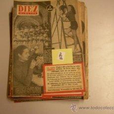 Coleccionismo de Revista Diez Minutos: DIEZ MINUTOS19522,00 € . Lote 34792991