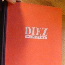 Coleccionismo de Revista Diez Minutos: DIEZ MINUTOS – TOMO 1953 COMPLETO - DEL Nº 71 AL 122. Lote 36113859