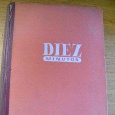 Coleccionismo de Revista Diez Minutos: DIEZ MINUTOS - 1954 COMPLETO – DEL Nº 123 AL 174. Lote 36114035