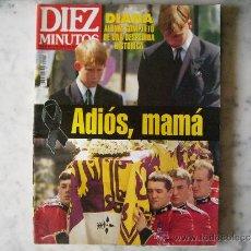 Coleccionismo de Revista Diez Minutos: DIEZ MINUTOS,GRAN REPORTAJE ENTIERRO DIANA DE GALES-MUERTE DE LA MADRE TERESA DE CALCUTA.. Lote 37612097