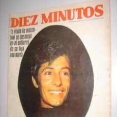 Coleccionismo de Revista Diez Minutos: REVISTA DIEZ MINUTOS AÑO 1968 Nº873. Lote 37905604