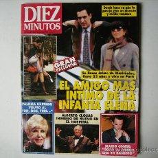 Coleccionismo de Revista Diez Minutos: DIEZ MINUTOS,INFANTA ELENA-LOLA FLORES-ROCIO JURADO-PALOMA HURTADO-NORMA DUVAL-NATALIE COLE.. Lote 38122060