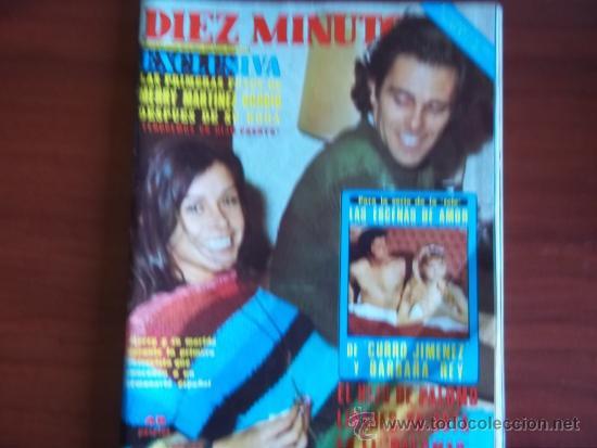 DIEZ MINUTOS - Nº 1372 - 10 DE DICIEMBRE DE 1977 / MERRI MARTINEZ BORDIU DESPUES DE SU BODA (Coleccionismo - Revistas y Periódicos Modernos (a partir de 1.940) - Revista Diez Minutos)