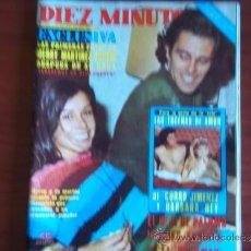 Coleccionismo de Revista Diez Minutos: DIEZ MINUTOS - Nº 1372 - 10 DE DICIEMBRE DE 1977 / MERRI MARTINEZ BORDIU DESPUES DE SU BODA. Lote 38193974