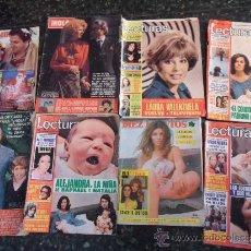 Coleccionismo de Revista Diez Minutos: LOTE DE 8 REVISTAS HOLA, LECTURAS Y DIEZ MINUTOS.. Lote 38414339