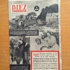 Coleccionismo de Revista Diez Minutos: REVISTA DIEZ MINUTOS 1952 NUMERO 53 - TDKR13. Lote 38583363