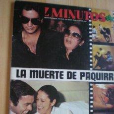 Coleccionismo de Revista Diez Minutos: LA MUERTE DE PAQUIIRRI - REVISTA DIEZ MINUTOS. Lote 39071315