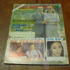 Coleccionismo de Revista Diez Minutos: REV. 4/1982 DIEZ MINUTOS -J.L.LOPEZ VAZQUEZ Y FLOR AMPLIO RPTJE.GRACITA MORALES, SILVIA MUNT. Lote 38927691