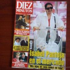 Coleccionismo de Revista Diez Minutos: DIEZ MINUTOS - Nº 2446 - 10-7- 1998 / BODA RELIGIOSA DE CAMILO JOSE CELA Y MARINA CASTAÑO. Lote 39507515