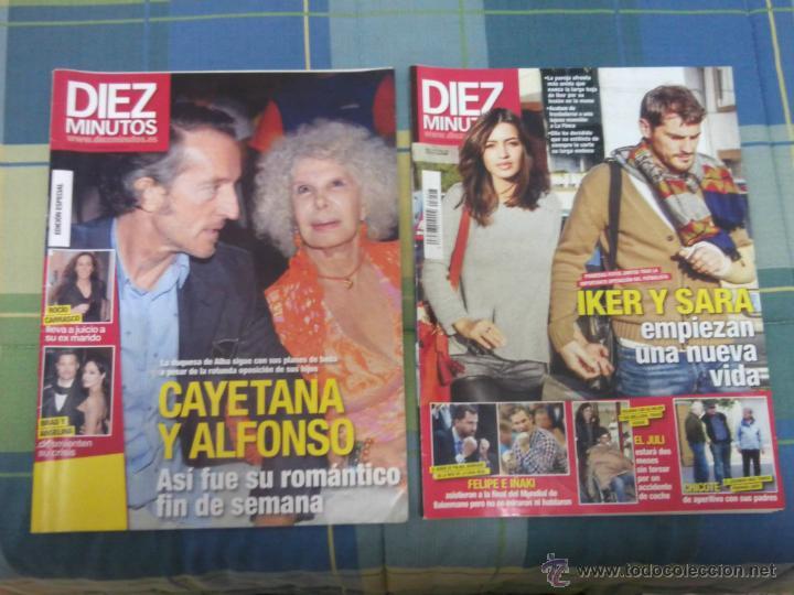 DIEZ MINUTOS - LOTE DE 2 REVISTAS. (Coleccionismo - Revistas y Periódicos Modernos (a partir de 1.940) - Revista Diez Minutos)