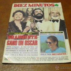 Coleccionismo de Revista Diez Minutos: REV.4/1983 DIEZ MINUTOS.-OSCAR CINE ESPAÑOL-GRAN RPTJE-.DINASTIA,LOS REYES CON J.PABLOII,.ANA BELENN. Lote 41045849