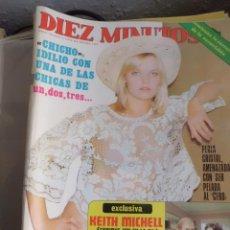 Coleccionismo de Revista Diez Minutos: REVISTA DIEZ MINUTOS Nº 1277. Lote 41053127